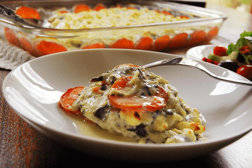 Nuveg sweet potato spinach chicken